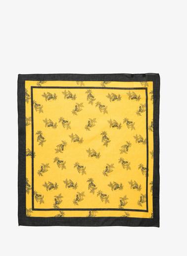 Koton Desenli Sal Sarı